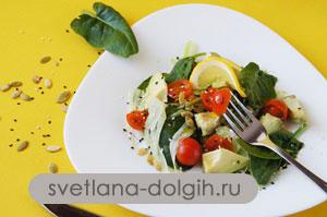 диетический салаты, рецепты Гербалайф