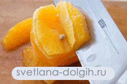 как филитировать апельсин