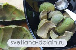 как сделать мусс из авокадо к верринам
