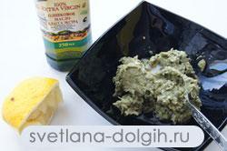 приготовление верринов с креветками и авокадо