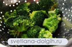 отварить брокколи для картофельного салата
