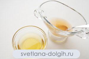 полить фрукты лимонным соком