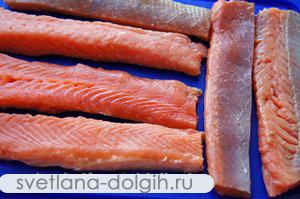 продукты для шашлыка из рыбы