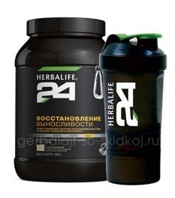 белково-углеводный напиток Восстановление выносливости Гербалайф 24