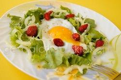 диетический летний салат
