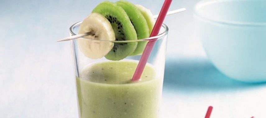 протеиновый коктейль и с киви и бананом