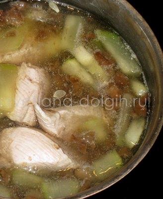 как сварить грибной суп