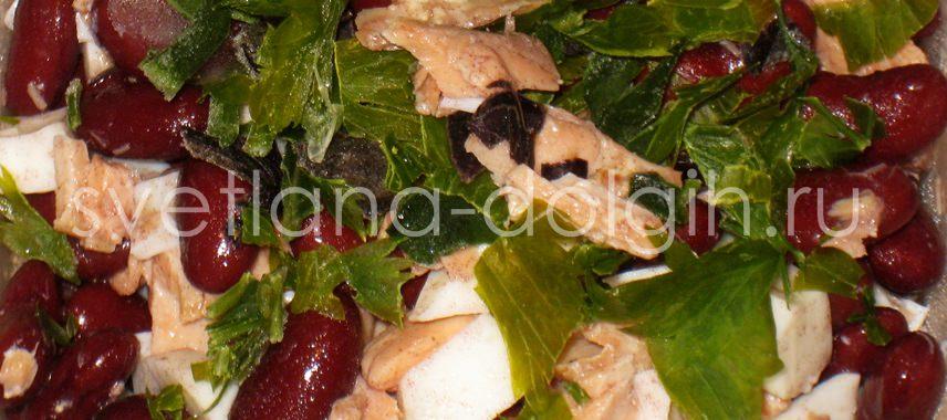 вкусный салат из рыбы