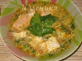 Суп рыбный с молоком