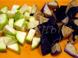 Диетический рататуй с овощами