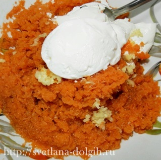 Рецепт салата морковный