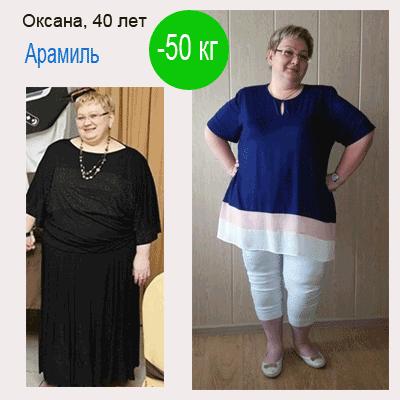 похудеть на 50 кг