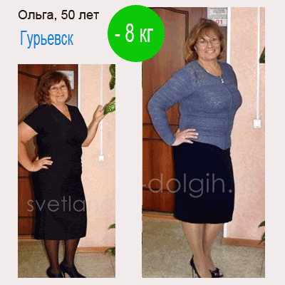 как похудеть на 8 кг