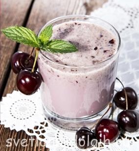 Как приготовить молочный коктейль Гербал
