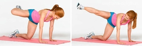 Упражнения для похудения ног Гербал