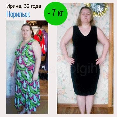 как похудеть на 7 кг