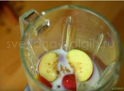 Коктейль формула 1 с яблоком и пряностями