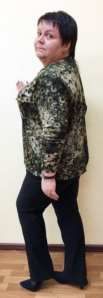 Результаты Гербалайф - минус 2 размера одежды