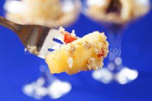 вкусный низкокалорийный грушевый десерт