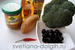 продукты для картофельного салата