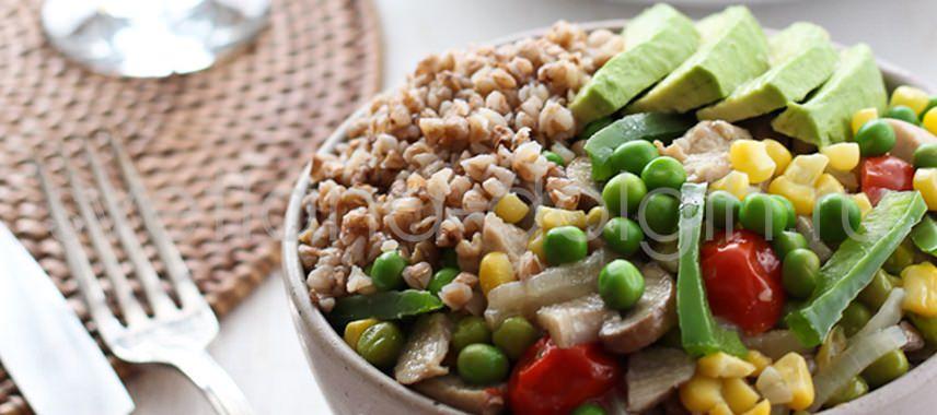 как вкусно приготовить гречку, белковая диета