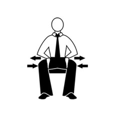 упражнения на работе для спины