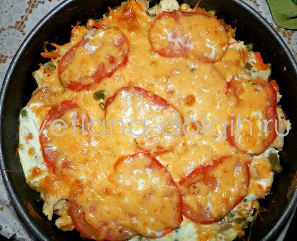 овощная запеканка в духовке на диете