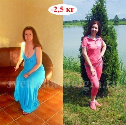Дневник снижения веса с Гербал Юлии Нехаевой