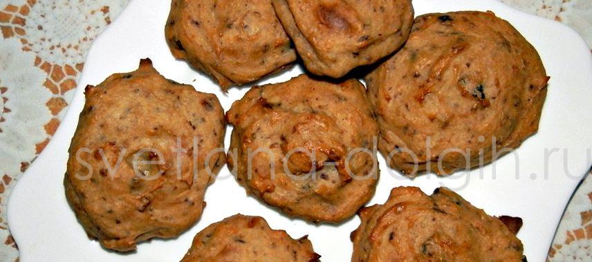творожное диетическое печенье