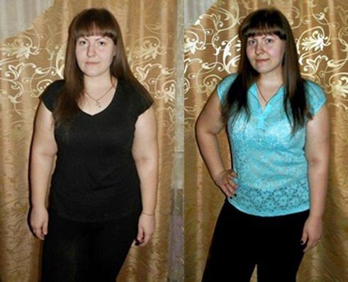 результат Гербал, минус 12 кг за 3 месяца