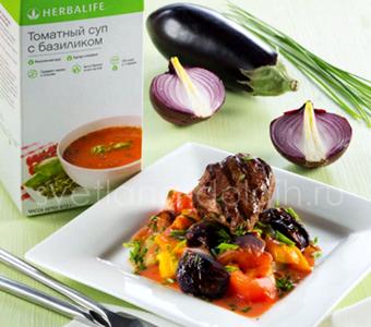 Мясо с овощами Гербал