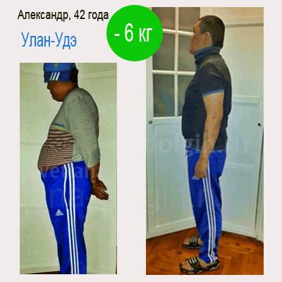 похудеть на 6 кг мужчине