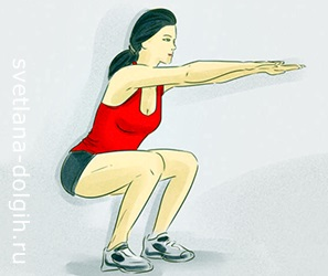Упражнения для похудения ног и ляшек Гербал