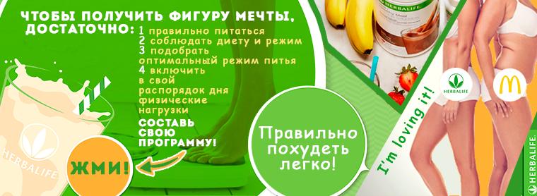 Составить программу питания