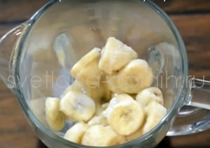 Как сделать банановое мороженое