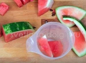 Как приготовить арбузный смузи
