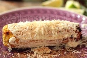 Как приготовить кукурузу с творожным сыром