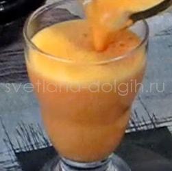 Как приготовить детокс коктейль из тыквы и апельсинового сока