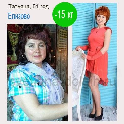 похудеть на 15 кг