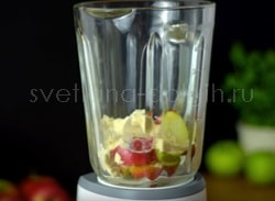 Яблочный протеиновый коктейль Гербал с яблоком и корицей